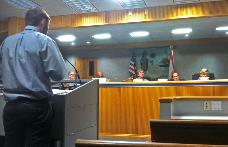 Jeremiah at Wage Recovery Hearing